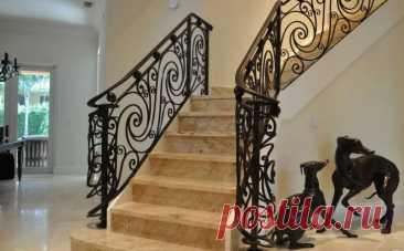 Шикарные лестницы с ограждением из нержавеющей стали и не только! Берите на заметку - Дизайн квартир с фото Vdizayne.ru