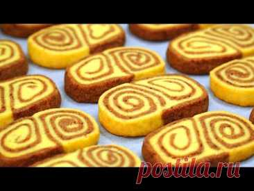 Самое Вкусное ПЕСОЧНОЕ Печенье! | Простой Рецепт | Кулинарим с Таней