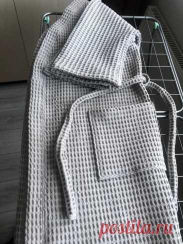 Халат банный — кимоно по легкой выкройке. Проверено!   О рукоделии, и не только. 🧵✂️👜   Яндекс Дзен
