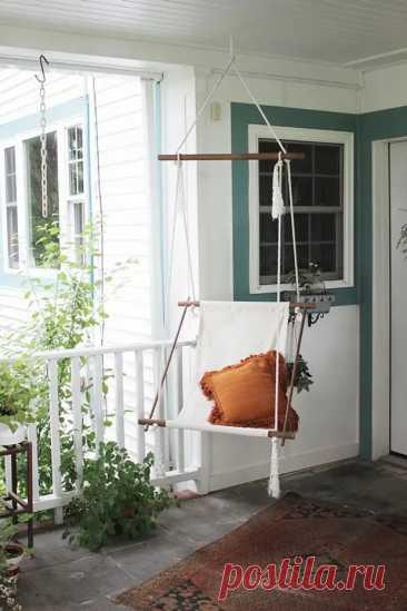 Кресла-качели для вашего дома - Самоделкино - медиаплатформа МирТесен
