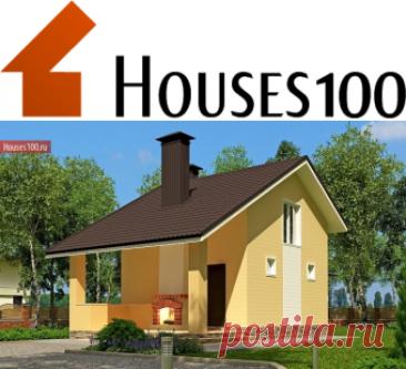 C-54 Проект мансардного дачного дома - Проекты домов и коттеджей в Москве