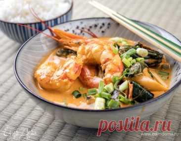 Готовим дома блюда тайской кухни: рецепт острого супа «Том Ям»