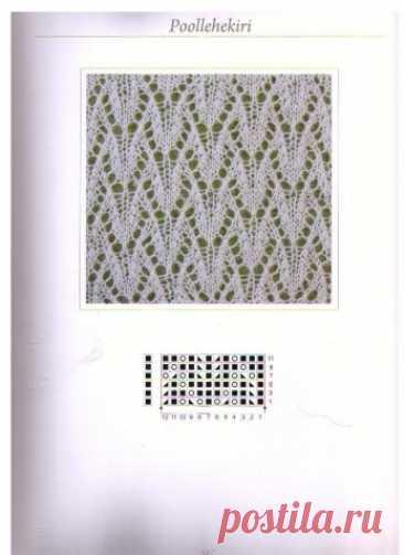 Ажурные узоры | Вязание для женщин спицами. Схемы вязания спицами