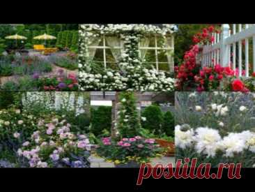 Дизайн и отделка красивого двора