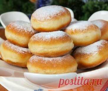 """""""Нежнейшие"""" пончики к семейному чаепитию!"""