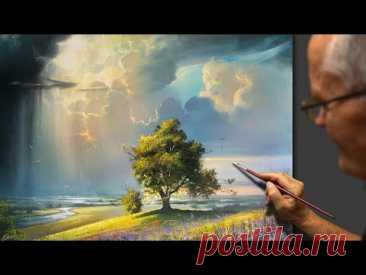 """Heavenly Power"" Acrylic. Artist - Viktor Yushkevich. #81 photos in 2021."
