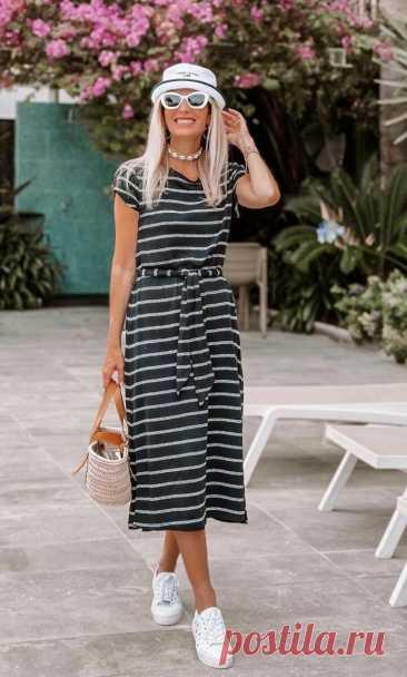 Платье-футболка — модный тренд, который сделает лето комфортным, а образ стильным Продолжим разговор о летних трендах, которые решают две задачи, одинаково важных для женщин, — делают образ актуальным и обеспечивают комфортное самочувствие. Кстати, что для вас … Читай дальше на сайте. Жми подробнее ➡