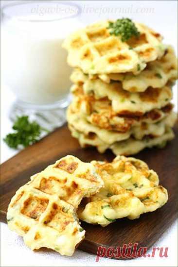 Вафли кабачковые и сырные - Осиный домик — LiveJournal