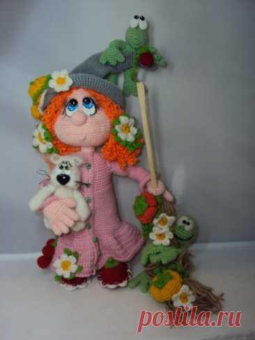 Куклы Эммы Забрулиной из категории Интересные идеи – Вязаные идеи, идеи для вязания