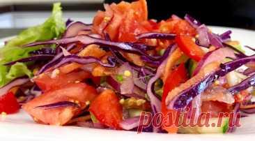 Овощной салат «Радуга вкуса»: для отличного настроения