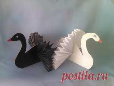 Объёмные лебеди