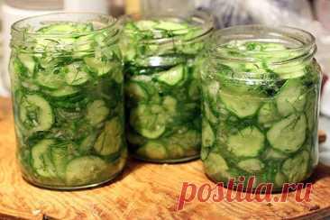 Любимый салат из огурцов с приправой «10 овощей» на зиму!