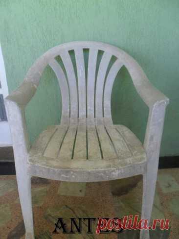 Посмотрите, как мастерица кардинально преобразила садовую пластиковую мебель Такой стул давно бы оказался на мусорке, только стулу посчастливилось оказаться в... Читай дальше на сайте. Жми подробнее ➡