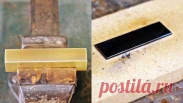 Простое воронение и латунное покрытие стали в домашних условиях Для облагораживания стали и защиты ее от коррозии выполняется покрытие различными способами. Это может быть создание оксидной пленки, напыление и т.д. Большинство таких способов слишком технологичны, чтобы повторить их в домашних условиях. Рассмотрим варианты покрытия стали, которые можно