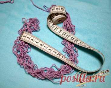 Как рассчитать расход пряжи для вязаного изделия