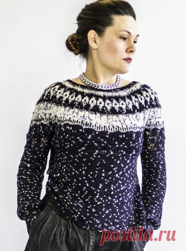 Вязаный свитер MeltingGlacier