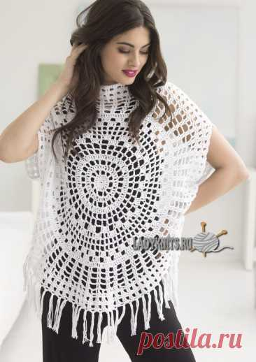 Knitted hook simple fashionable top