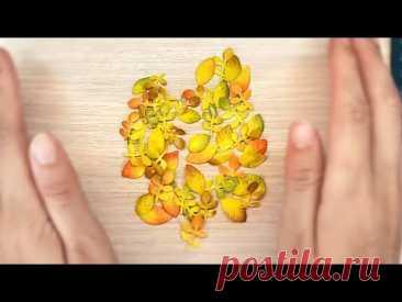 Осенние листья из фоамирана для открыток и поделок своими руками / Фоамиран DIY / Скрапбукинг