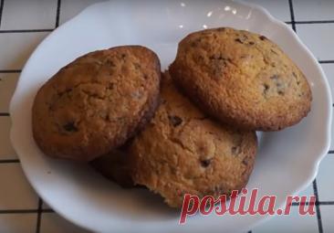 Суперлегкое и обалденно вкусное печенье с шоколадом