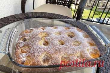 Пирог с абрикосами – пошаговый рецепт с фотографиями