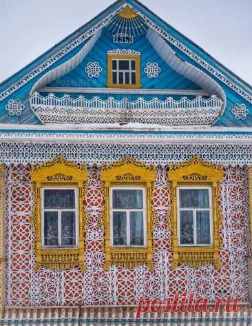 Невероятный дом в деревне Соймицы - весь в кружевах! | @juliaruspirit | Яндекс Дзен