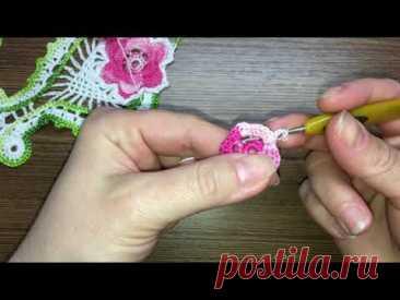 Цветочный мотив «амфора» - Вязание - Страна Мам