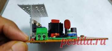 Преобразователь постоянного тока  12 В - 220 В/ 200 Вт В этой статье мастер расскажет нам, как он сделал преобразователь постоянного тока с 12В на 220В с обратной связью для стабилизации выходного напряжения и защиты от низкого заряда батареи / пониженного напряжения. Несмотря на то, что на выходе схемы постоянный ток, можно запускать от него