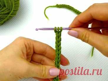 Как связать шнурок крючком? | Журнал Ярмарки Мастеров