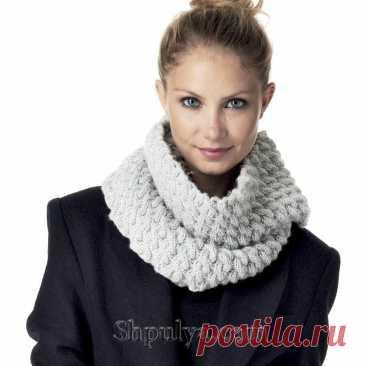 Снуд с косами спицами — Shpulya.com - схемы с описанием для вязания спицами и крючком