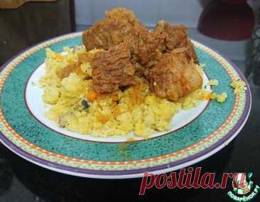 Говядина на луковой подушке – кулинарный рецепт