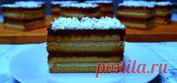"""Нежный торт """"Полька"""" без выпечки"""