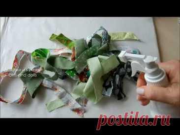 Супер идея новогоднего подарка из лоскутов. Прихватки ЁЛОЧКИ 2 способа . Patchwork sewing