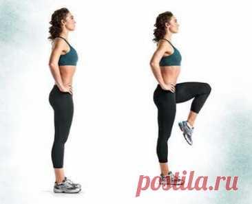 10 лучших упражнений для тех, кому нельзя нагружать суставы!