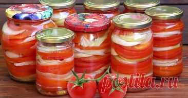 Вкуснейшие салаты из помидор на зиму — 9 Любимых рецептов