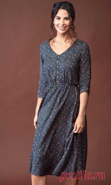 Выкройка женского платья Размеры 8-20 англ