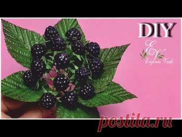 DIY 💖 МК простой ДЕКОР - ЕЖЕВИКА 🌿 DECOR with your own hands