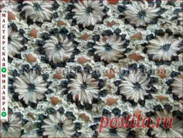 """Мастерская """"Милабра"""": Узор для цветочного лума № 5"""
