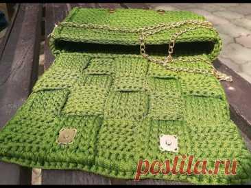 Мастер класс по вязанию сумочки-плетенки а ля Боттега Венета