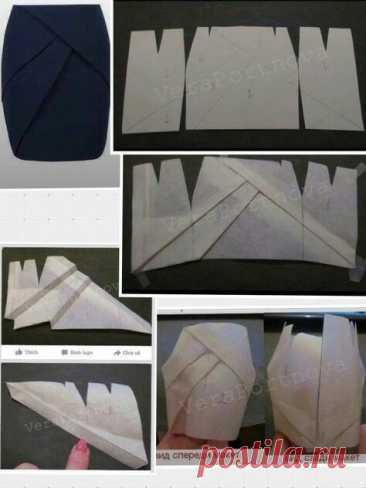 Интересные варианты моделирования юбок