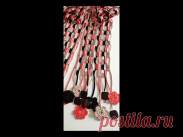 Оригинальные шарфики.
