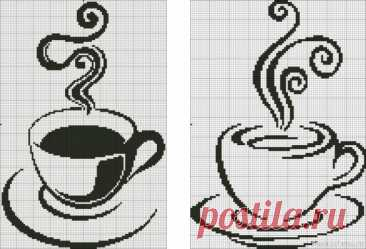 Девочки, помогите чайнику найти схему! | Вязание спицами для начинающих Добрый день дорогие рукодельницы,Загорелась я идеей связать плед двусторонним жаккардом. По счастливому случаю купила пряжу (коричневый и молочный цвет).Бортик кофейные зерна, а в центре чашечка кофе. Подскажите пожалуйста, как схему для вышивки пересчитать...