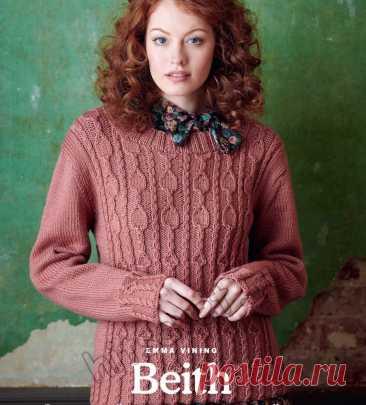Вязание женского пуловера Beith - Хитсовет