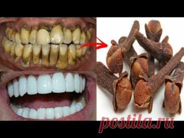 Отбеливание и удаление зубного камня за одну минуту! вы получите зубы как жемчуг