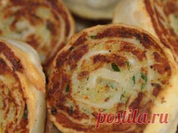 Картофельные рулетики алупатры: постная закуска вкуснее отбивных!