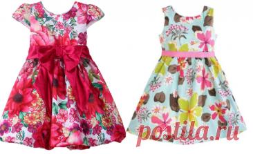 Выкройка детского летнего платья на возраст от 3 месяцев до 16 лет (Шитье и крой) – Журнал Вдохновение Рукодельницы