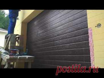 Утепление стен гаража своими руками. Утепление пенопластом