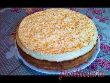 """Tears Angela cake \/ Cottage cheese Pie \/ Cake \""""Angel Tears\"""" \/ Step-by-step Recipe (tasty and Beautifully)"""