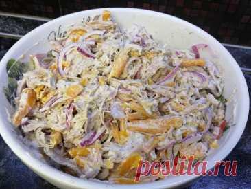 Готовим этот салат на праздники больше 20 лет: всего из трёх простых ингредиента | Заметки для хозяйки | Яндекс Дзен
