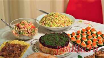 Лучшее меню на Новый Год 😍🎅🎄 Семь праздничных блюд для вас ❤