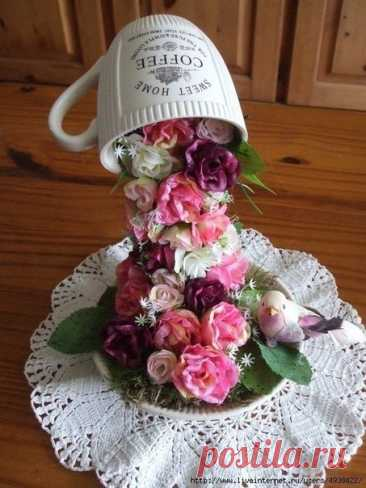 El vaso de flores